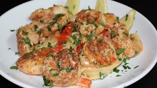 Cajun Shrimp Fettuccine Alfredo with Michael's Home Cooking