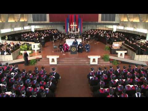 Saint John's University Commencement 2014