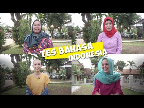 Para Artis Gabisa Bahasa Indonesia? | Seleb On Set: Challenge