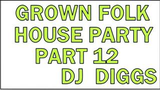 GROWN FOLK HOUSE PARTY 12 (RELOAD)   DJ DIGGS - YouTube