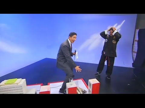 "TV host accidentally makes fool of ""brick-breaking"" martial arts master"