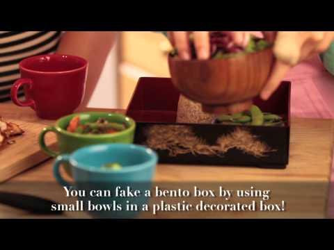 How to make a Bento Box Dinner!