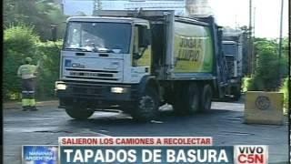 C5N - SOCIEDAD: CAMIONES DE BASURA SALEN A RECOLECTAR