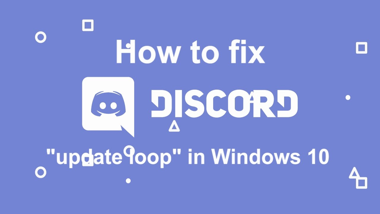 ★ Still helps in 2019! ★ How to Fix the Discord Update Loop & Other Issues