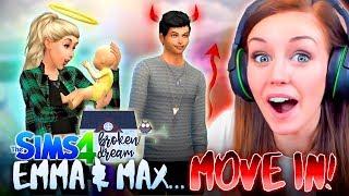 Video *NEW* 👫EMMA AND MAX RUN AWAY TOGETHER!?❤ (The Sims 4 - BROKEN DREAM #1! 🏚) download MP3, 3GP, MP4, WEBM, AVI, FLV Juli 2018