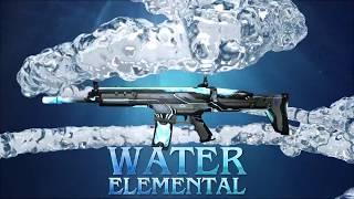 Водный Scar в Оружейном Джекпоте