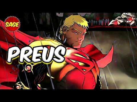 "Who is DC Comics Preus? ""Superman"" in a bottle."