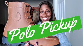 POLO RALPH LAUREN RANGER HIGH II BOOT PICKUP + ON FOOT WITH OUTFIT LOOK | TALKS WITH TJ