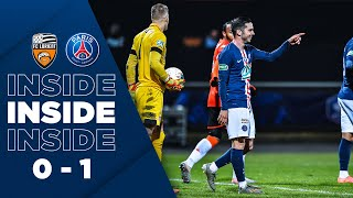 INSIDE : LORIENT vs PARIS SAINT-GERMAIN