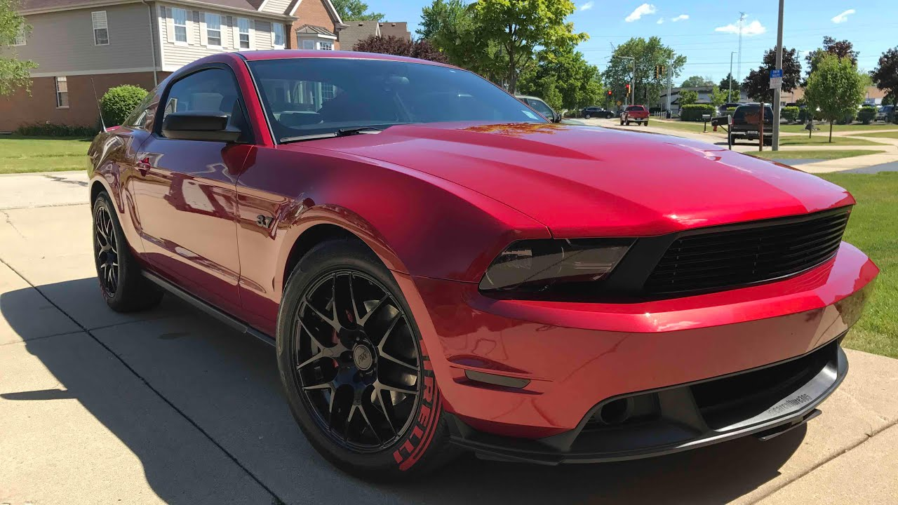 2010 2017 Gt Front End Conversion On V6 Mustang Make Your Look Like A