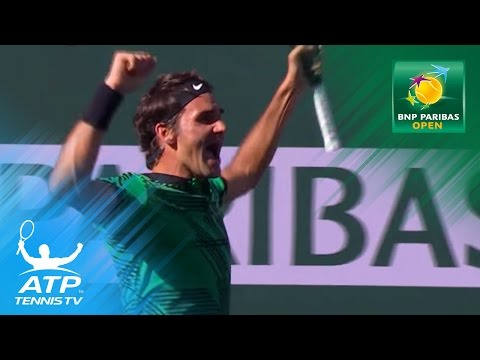 Roger Federer beats Stan Wawrinka to win 2017 BNP Paribas Open | Indian Wells 2017 Highlights