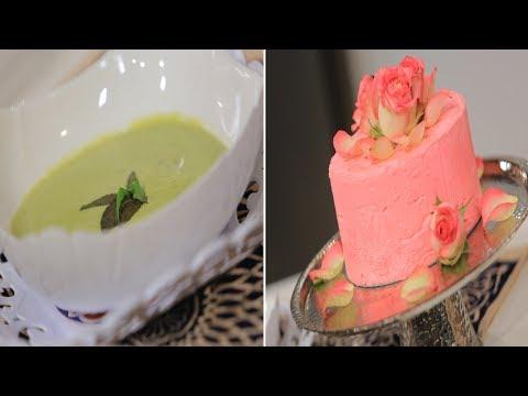 شوربة الكوسة الكريمي اللايت - ايس كريم الورد - سلطة الراهب : حلو و حادق حلقة كاملة