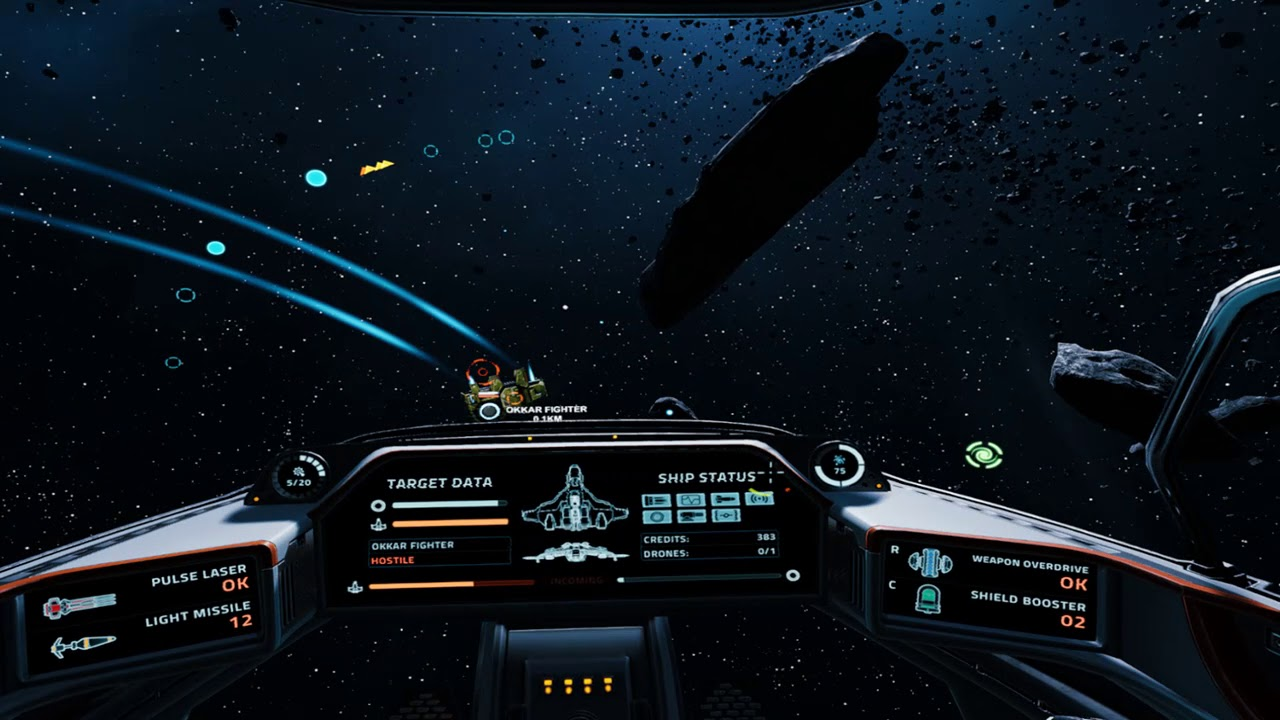 [PC VR] Everspace - 20 minutes of raw gameplay  Review to come