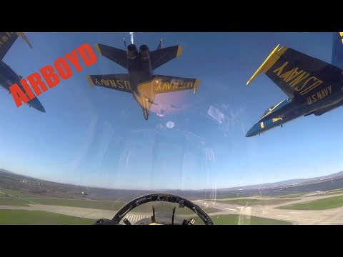 Blue Angels Cockpit Video Super Bowl 50