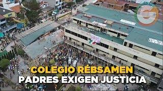 Padres de familia del Colegio Rébsamen exigen justicia
