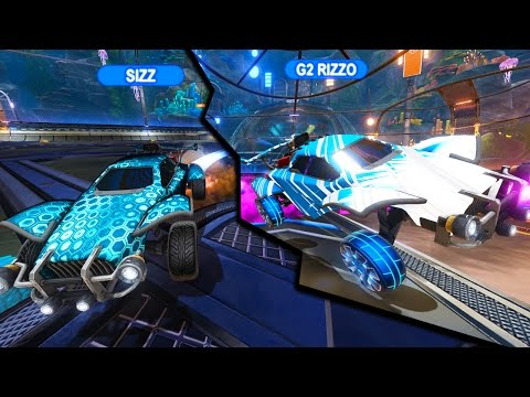 PLAYING ROCKET LEAGUE WITH 2 PRO PLAYERS