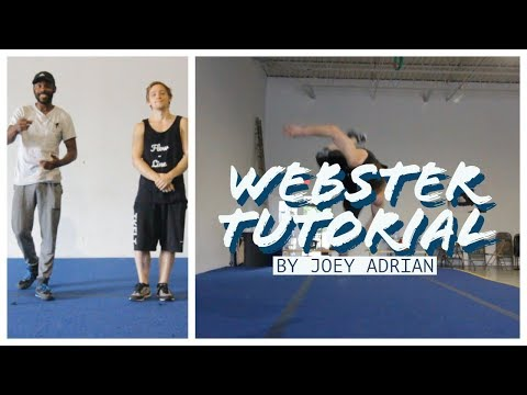 Learn How To Webster Front Flip! Parkour Tutorial!