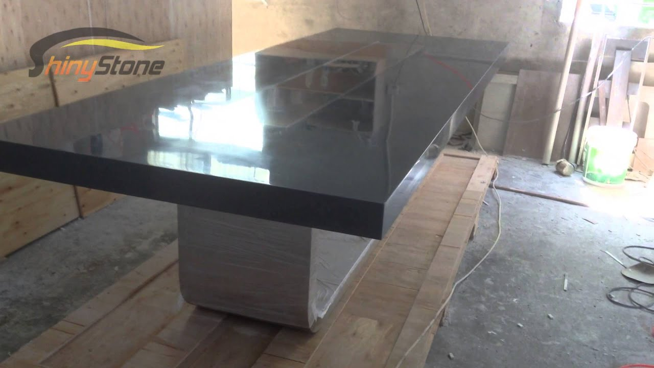 Grey Acrylic Solid Surface Artificial Stone Boardroom Conference - Grey conference table