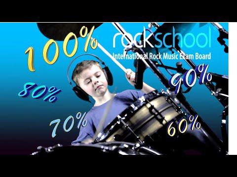 Mohair Mountain - Rockschool Drums Grade 6 Backing Track 70%, 80%, 90% & Full Tempo