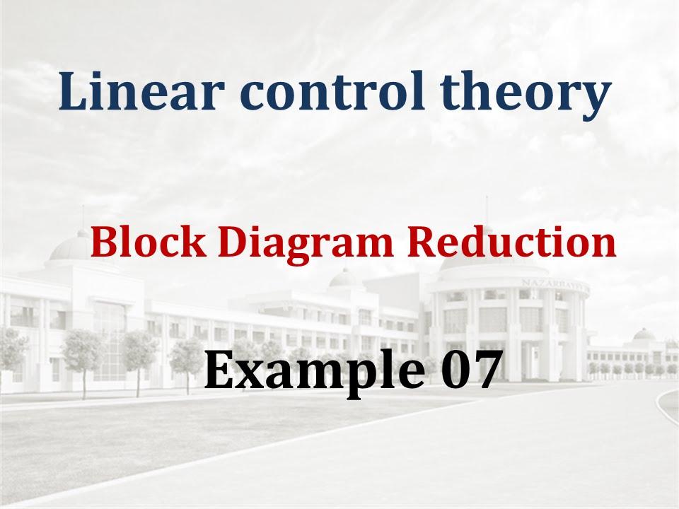 Block Diagram Reduction - Example 07
