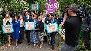 Irland stimmt über Lockerung der Abtreibungsgesetze ab thumbnail