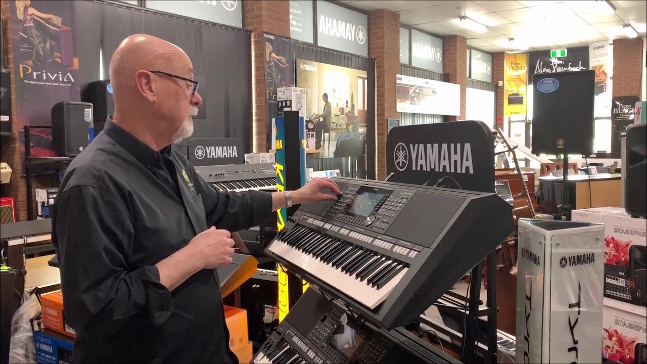 Professional Yamaha PSR S & A Series & Genos Workstations