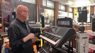 Yamaha PSR S975 at Prestige Pianos and Organs