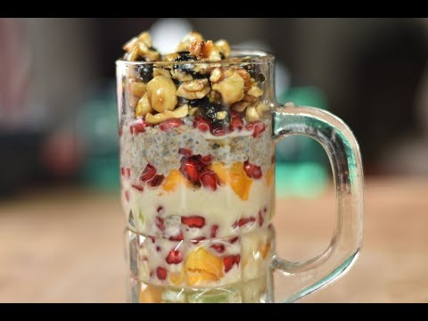 Special Nutrient & Protein Rich Fruit & Nut Salad || Healthy Snack