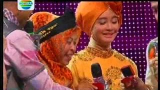 "EGA Mendapat Giwang dari SOIMAH  "" KONSER FINAL 8 BESAR DANGDUT ACADEMY 2 "" 10 April 2015"