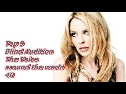Top (9+1)Blind Audition (The Voice around the world 40)