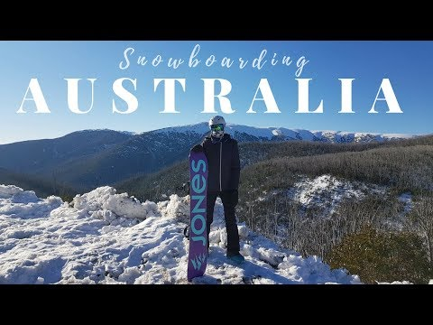 Snowboarding At Mount Hotham And Fall Creek Australia