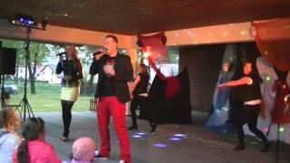Koncert Zespołu X-Trans czyli Sylwia i Tomek. Moszczanka 2014