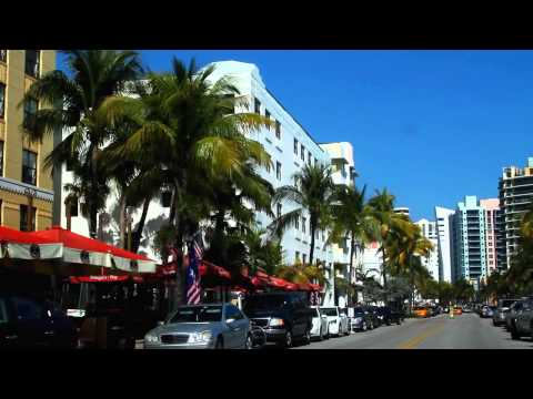 South Beach Miami Florida - Travel Guide Fancam HD