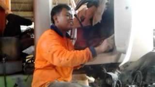 Repair Truck Dump Nissan Diesel