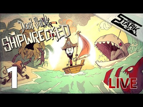 Don't Starve Shipwrecked - 1.Rész (Hajótörött kalandok) - Stark