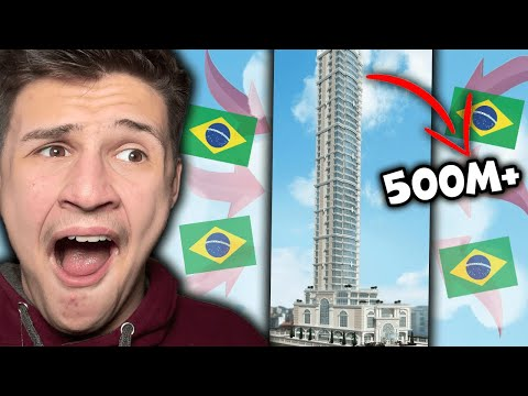 Brazils TALLEST Buildings in Each State !  🇬🇧 UK Reaction