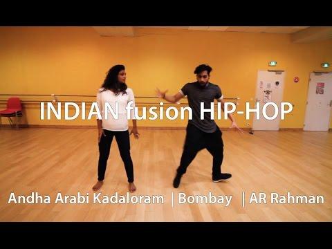 ANDHA ARABI KADALORAM  | BOMBAY |  AR Rahman | (Radja & Shanmidra Dance)