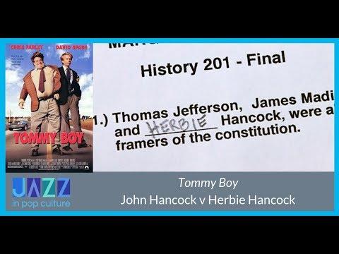 Tommy Boy: Herbie Hancock v. John Hancock