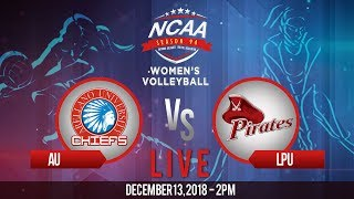 NCAA 94 Women's Volleyball: AU vs. LPU | December 13, 2018