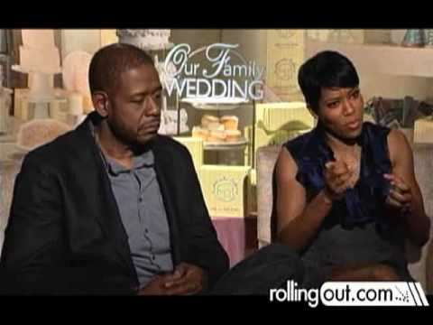 "Munson Steed Interviews Forest Whitaker & Regina King for ""Our Family Wedding"""