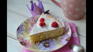 Бисквитный пирог с пропиткой из нежнейшего сметанного желе
