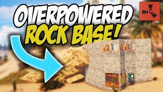 THE START of our AWESOME ROCK BASE WIPE! - Rust Solo #1