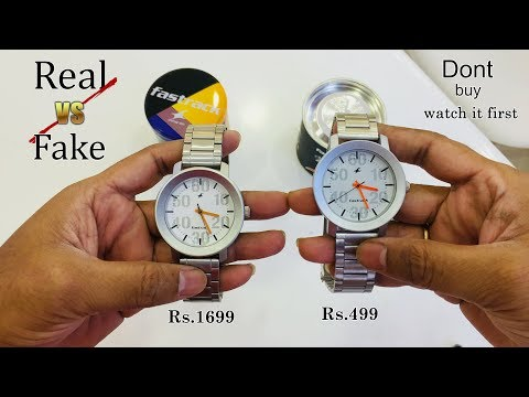 Fake Vs Original How To Check #Fastrack #watches