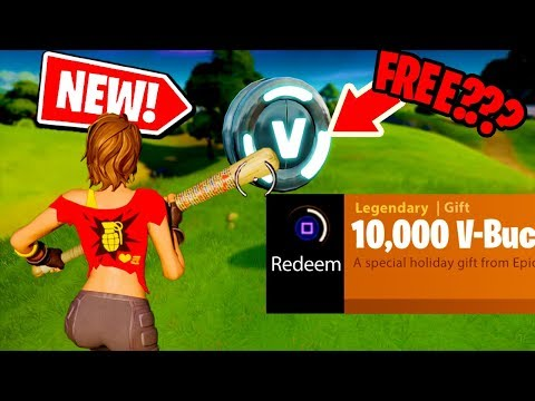 *NEW*  How To Get 10,000 V-BUCKS For FREE In Fortnite Chapter 2, Season 2??!
