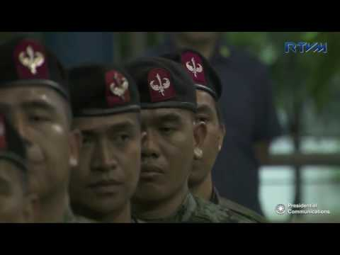 Talk to the Troops of the Philippine National Police – Police Regional Office X (Speech)