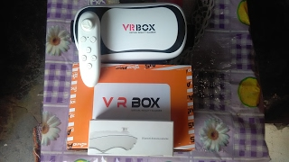 (Hindi)VR Box 2.0 with Bluetooth remote unboxing and full review cheapest vr glasses