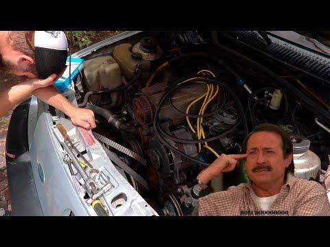 Como NO cambiar la correa de Distribucion en un Ford Sierra XR4