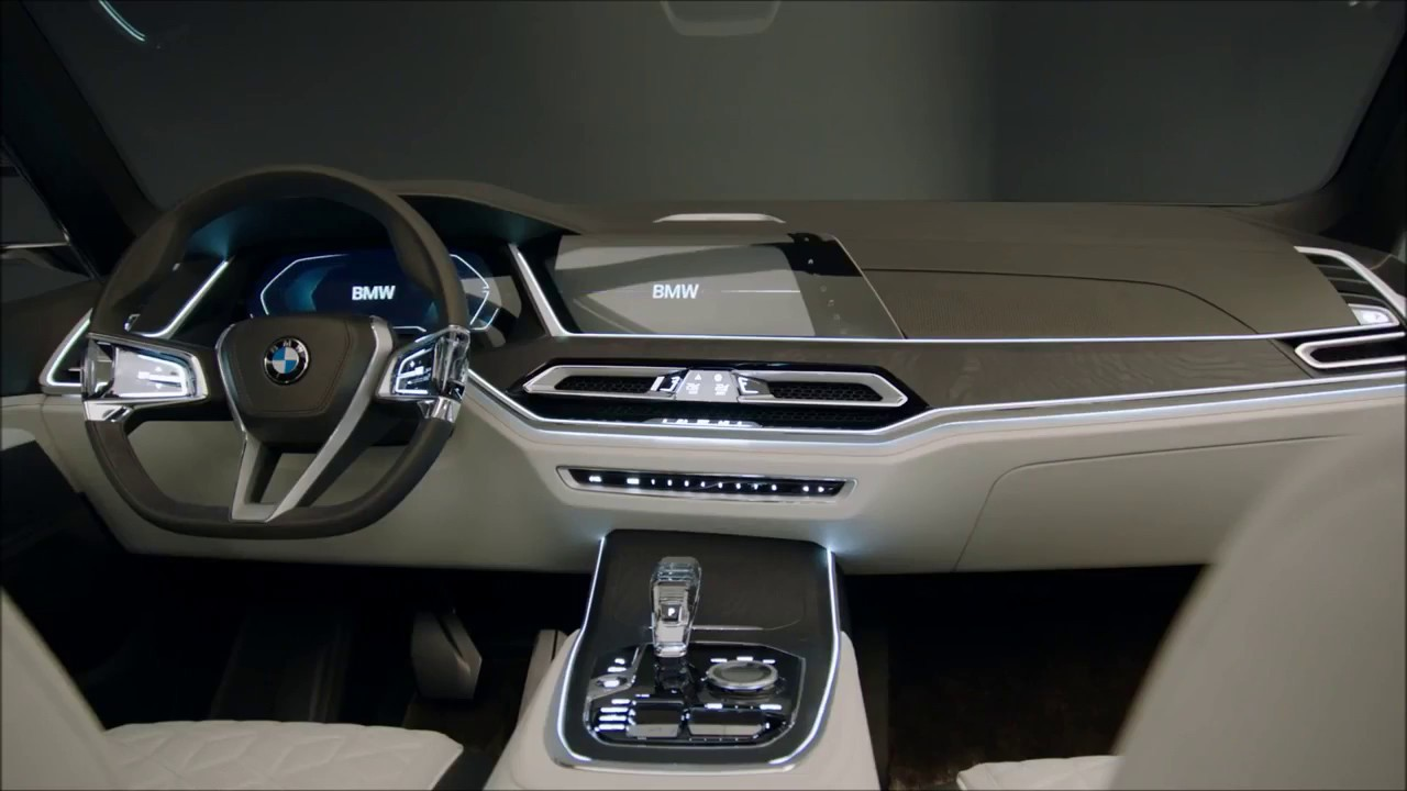 2018 Bmw X7 Interior Youtube