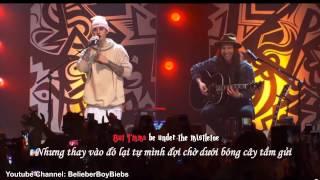 Mistletoe Acoustic Live Lyrics Vietsub & Karaoke