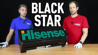 Обзор ЧЁРНОГО кондиционера HISENSE BLACK STAR DC INVERTER AS-11UR4SYDDEIB15